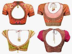 Fashion And Style: Saree Blouse Designs
