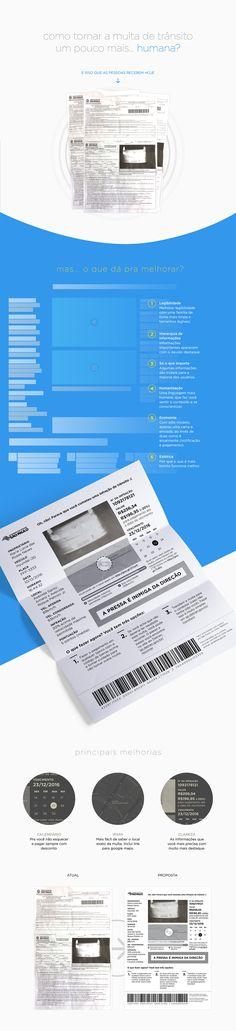 Designer recria carta de infração no trânsito e o resultado impressiona - Publicitários Criativos