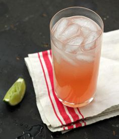 Paloma Cocktail    2 oz tequila blanco (silver)  Juice of half a lime  3 oz grapefruit juice  3 oz soda  pinch salt  Lime wedge, for garnish    Combine tequila, lime juice and a pinch of salt in a highball or Collins glass. Add ice and top with grapefruit and soda. Stir gently, then serve with a lime wedge garnish.    MAKES 1 COCKTAIL