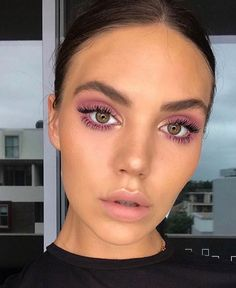Trendy eye makeup purple tutorial eyebrows 62 Ideas Trendy Augen Make-up lila Tutorial Augenbr Perfect Makeup, Pretty Makeup, Simple Makeup, Natural Makeup, Stunning Makeup, Makeup Trends, Makeup Inspo, Makeup Inspiration, Makeup Ideas