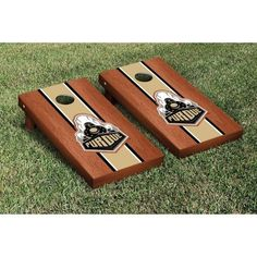 Victory Tailgate Purdue Boilermakers Cornhole Game Set, Gold
