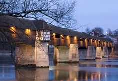 Covered bridge over the Rhine, Bad Saeckingen, Black Forest, Baden-Wuerttemberg, Germany (© Movementway Movementway/imagebroker.net/Photo Library)