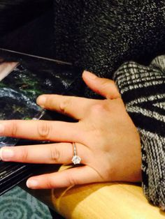 For those that were saying that there was not any photo! Here is the proof of Ginny's ring!