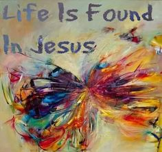 """Jesus said to him, """"I am the way, the truth, and the life. No one comes to the Father except through Me. (John 14:6 NKJV)"""