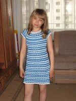 Два месяца полуночной работы, онемевшая рука, измученные нервы, полузаброшенный дом - и вот итог: Ура! Наше платье!