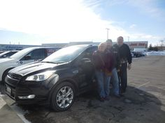 Bob Crane and the rest of us here at Court Street Ford would like to say congratulations to Jerald and Judith Olson of Bourbonnais on the purchase of their 2015 Ford Escape. Thank you for your business!