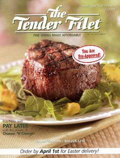 Tender Filet cover for Spring 2009.