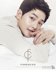 Song Joong Ki is now the face of cosmetics brand 'Forencos' | allkpop.com