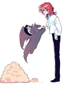 Anime Demon, Anime Manga, Anime Art, Anime Couples Drawings, Couple Drawings, Cute Anime Character, Character Art, Character Illustration, Illustration Art