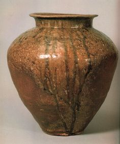 Old Tokoname jar