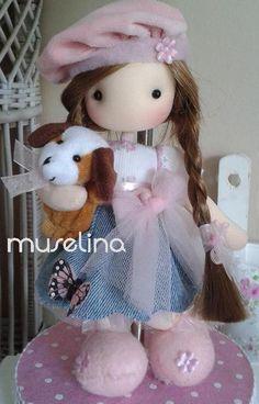 Doll Javiera Muselina