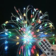 9 Flashing ModesBOLWEO Battery Operated Fairy Christmas String Lights with Remote Timer 5M164Ft 66LEDs Dimmable Fairy Lights for Indoor Outdoor Home Christmas Tree Wreath DecorationMultiColored -- More info could be found at the image url. (This is an affiliate link)
