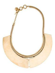 Lanvin Collar Necklace