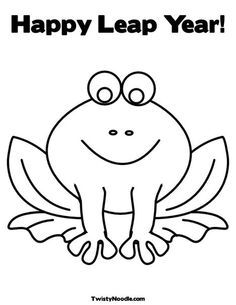 Leap Year on Pinterest | Leap Years, Coloring Pages and Worksheets