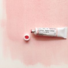 the perfect pink watercolour paint - rose dore