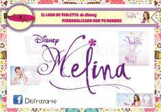 logo de Violetta de Disney personalizado con tu nombre https://www.facebook.com/pages/Disfrazarte/135504753295912