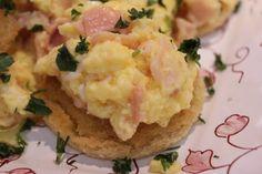 Ovos mexidos com salmão defumado by Segredos da Tia Emília. .:: Segredos da Tia Emília ::..