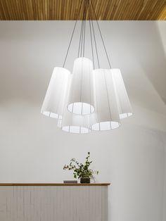 Interiors | alwill  #interiors #wood #pendant