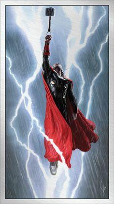 More Marvel - Marvel's Thor: The Dark World Art Editions