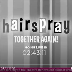 Together Again, Hairspray, Theatre, Join, Bring It On, African, Artists, Facebook, Star