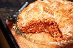 Hearty lamb pie with rosemary potato dumplings main image