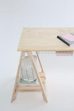 FANCY NZ Design Blog | Trestle Desks from companyandthings.com