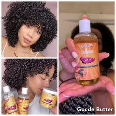 Calling all Type 4 Hair beauties Goode Butter has all the natural goodies for anyone on their Natural Hair Journey Get premium quality hair products from a brand that doe. 4c Natural Hair, Pelo Natural, Natural Hair Journey, Natural Skin, Natural Hair Styles, Good Natural Hair Products, Afro Hair Products, Products For Hair Growth, Natural Hair Tutorials