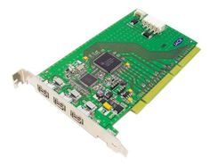 LaCie PCI  Firewire400 card for Mac & PC, 3 ext and 1 int port ( 107355 ) by LaCie. $10.28. Add FireWire capabilities to your PC or Mac* and attach FireWire devices such as hard drives, CD and DVD drives, DV camcorders and scanners. Three additional external FireWire ports let you quickly attach FireWire devices such as hard drives, CD and DVD drives, DV camcorders and scanners. Plug and play convenience allows for nearly-instant installation to your PC or Mac*. Your FireW...