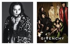 Campagne Givenchy - Automne/hiver 2014-2015