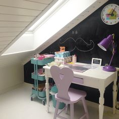 Photo by Monica Wiger Bunk Beds, Corner Desk, Small Spaces, Sweet Home, Pastel, Nursery, Unisex, Cottages, Cute