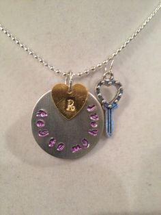 A personal favorite from my Etsy shop https://www.etsy.com/listing/230556439/key-to-my-heart-necklace