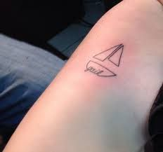 Image result for small sailboat tattoo