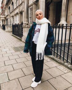 Pinterest: @Locamente Sub for more Hijab winter looks