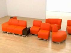 Swift Modular Lounge Seating from National Office Furniture - Swift's simple versatility creates a unique freedom to design functional, attractive lounge accommodations ideal for lobbies, reception areas, cafeterias and other common gathering areas. Endless configurability, coupled with contrasting fabrics and wood and metal accents in an array of finishes, revive the creativeness and excitement in dreaming up a welcoming environment. #NationalOffice #FurnitureWithPersonality