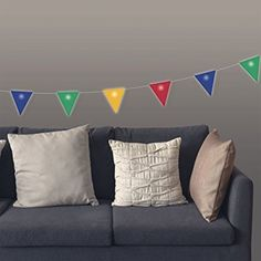50 Fifty FF002 3 Meter LED Light-Up Bunting - Multicolor (Pack of 1)
