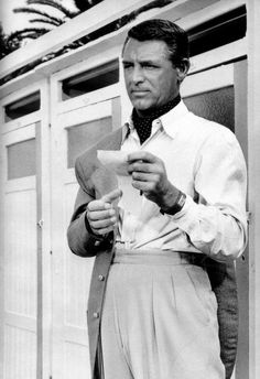 "voxsart: ""1955. Cary Grant. """