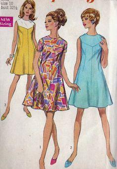 1960s Summer Princess Seam Dress Misses Vintage by MissBettysAttic, $8.00
