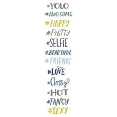 Decal - Multi-Colored Letters College Walls, Yolo, Decals, Wall Decor, Letters, Fancy, Beautiful, Target, Bedroom