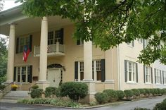 THE JEWELL MANSION - This Greek Revival home sits on four and a half acres on the corner in downtown Chickamauga. Just a few steps away is town square, full of antique and gift shops and restaurants. Also, in five minutes you can become immersed in the beauty of Chickamauga Battlefield.