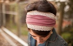 Garlands of Grace offering Headcoverings, headwraps, and headband for headcovering women and girls. Christian 1 Corinthians Chemo Scarves, headbands, hair veils for sale! How To Wear Headbands, Lace Headbands, Vintage Headbands, Wide Headband, Veil Hairstyles, Hair Cover, Bendy And The Ink Machine, Bandanas, Christian Women