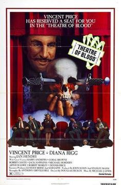 Theatre Of Blood Movie Poster 24inx36in