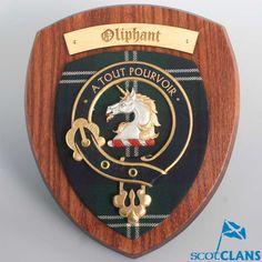 Oliphant Clan Crest