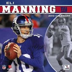Perfect Timing - Turner 12 X 12 Inches 2013 Ny Giants Eli Manning Wall Calendar (8011162) by Perfect Timing - Turner. Save 40 Off!. $9.57. There's no denying Eli Manning's dominance on the football field. With this new 2013 calendar, you can pay homage to your favorite player each month of the year. Poster size images showcase Eli Manning in action, doing what he does best, for everyone in your home or office to enjoy. A special bonus page with the extra months of September ...
