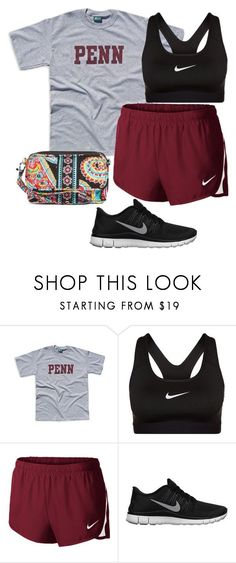 December 12th by daydreammmm ❤ liked on Polyvore featuring NIKE and Vera Bradley