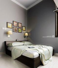 Arsitektur Desain Interior   Kamar Tidur   Bedroom   Banung' House