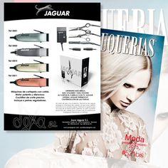 JOYA JAGUAR visto en #revistapeluquerias #PHSSALON522BIS contacta 948 38 22 90 joyajaguar.com