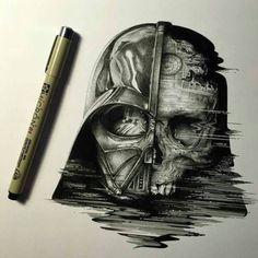Darth Vader skull Artist?