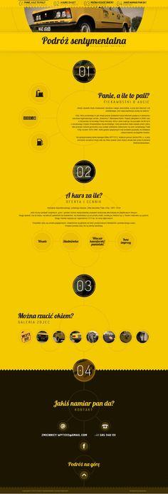 Podroz Sentymentalna - Best website, web design inspiration showcase - www.niceoneilike.com