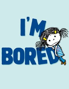 I'm Bored (2012) By Michael Ian Black, illustrated by Debbie Ridpath Ohi. ISBN 978-1442414037. MN Star of the North Nominee 2014-2015.