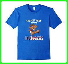 Mens Funny American Flag Dachshund Dog shirt 3XL Royal Blue - Animal shirts (*Amazon Partner-Link)